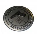 Plaque, panneau aluminium GLock Safe Action Pistols