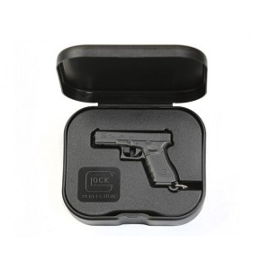 Porte-clé dans sa boîte, couleur noire - Glock
